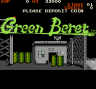 Intro Screen Green Beret