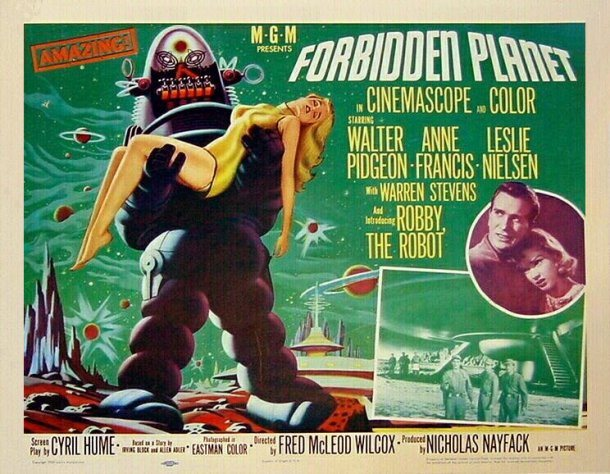 Cartaz de Forbidden Planet